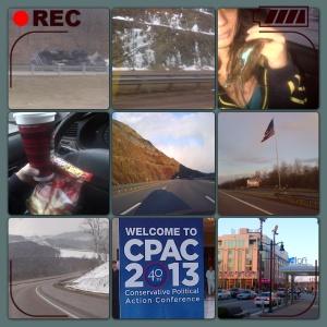 Random CPAC traveling pics